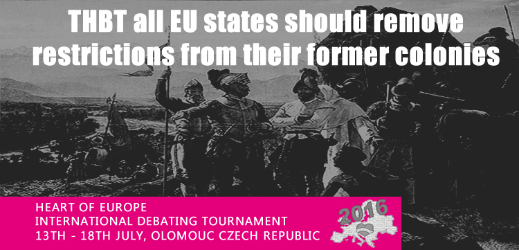 THBT all EU states should remove restrictions from their former colonies