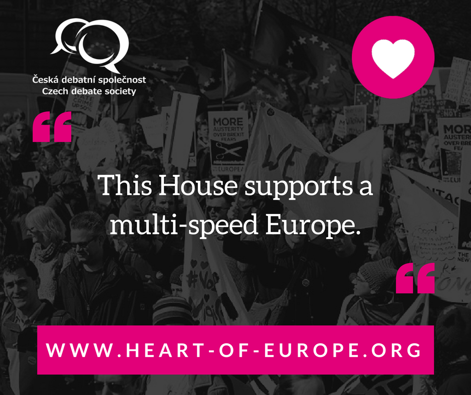 TThis House supports a multi-speed Europe.